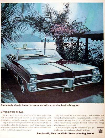 Em 1967, o Catalina era apresentado assim.