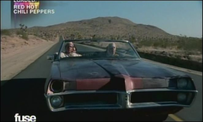 "Pontiac no clipe ""Scar Tissue"" do Red Hot Chili Peppers"