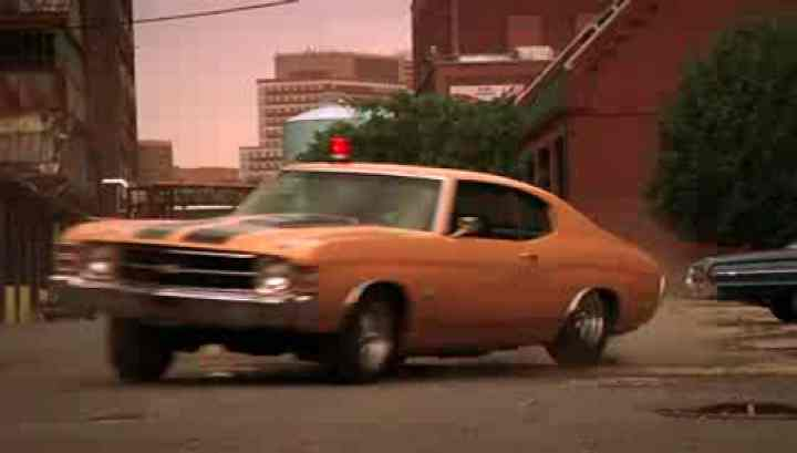 Chevelle 1971: Carro do personagem principal, Sam Tyler.