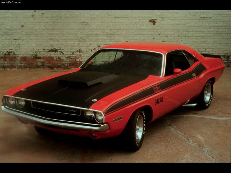 Dodge Challenger T/A 1970. Homologação pras pistas