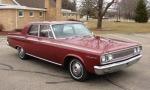 1965: Após uma pausa de cinco anos, o Coronet volta em 64 como modelo 65. Agora com linhas mais sóbrias.