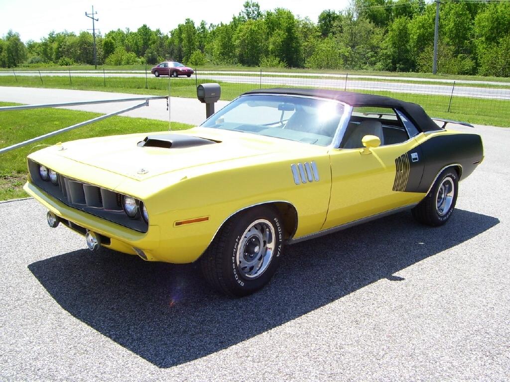 01. Plymouth Hemi 'Cuda Conversível 1971