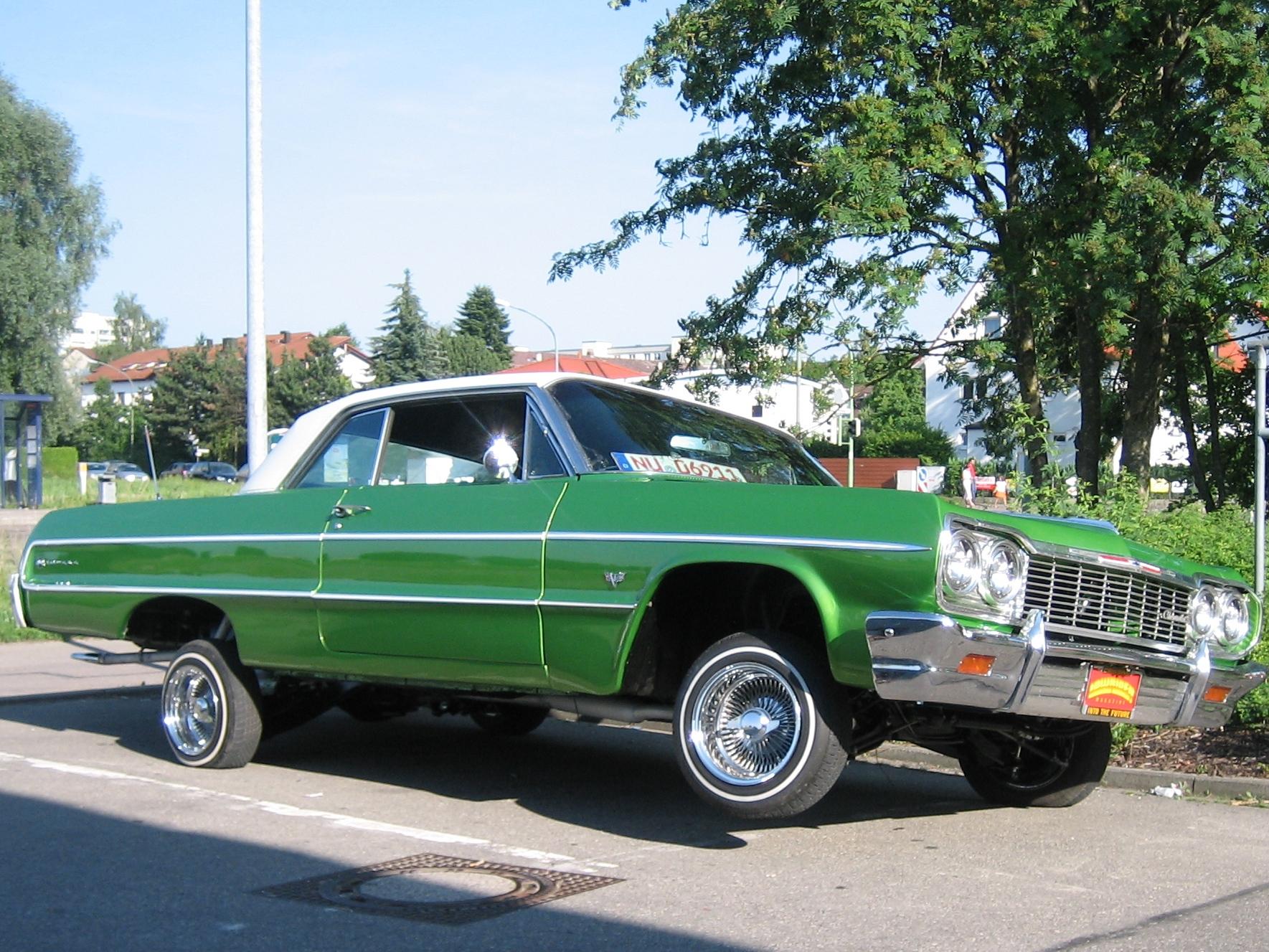 [Pedido] Mod carro/Impala Impala-1964-verde