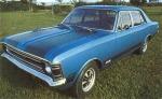 1971: Único Opala 4 portas esportivo.