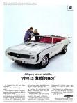 1969 Chevrolet Camaro Parachoques Cromados 01