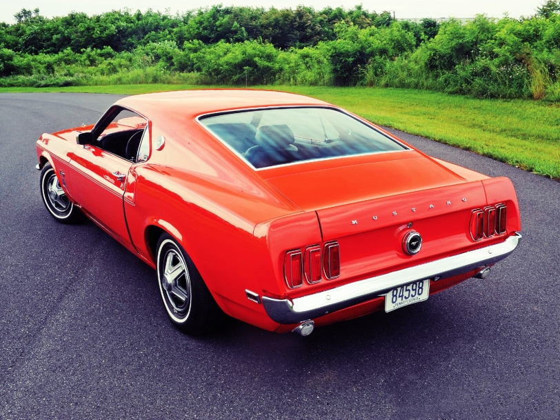 Ford Mustang Limited 600 1969.