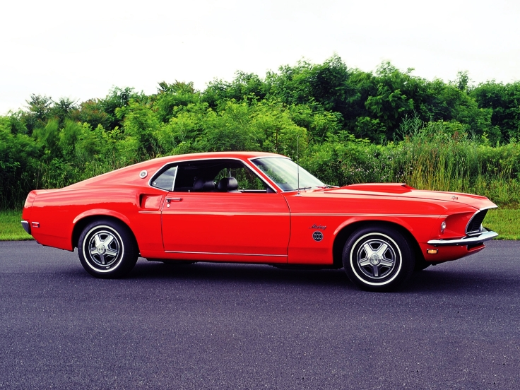 Ford Mustang Limited 600 1969