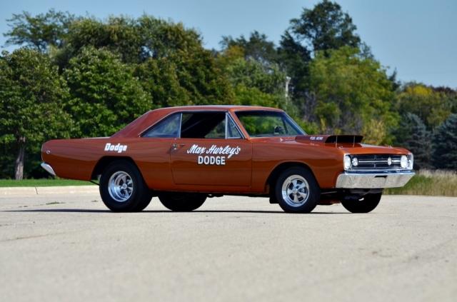 Dodge Dart Hemi 1968: Naqueles tempos, rodas Cragar era a escolha preferida em diversos segmentos. Foto: Mecum.com