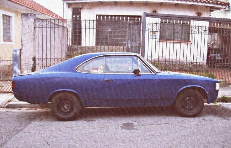 Chevrolet Opala 1980 ou Protótipo da Garagem Baldan. Foi a segunda e breve moradia do 250-S que equipa hoje o meu Opala 1977.