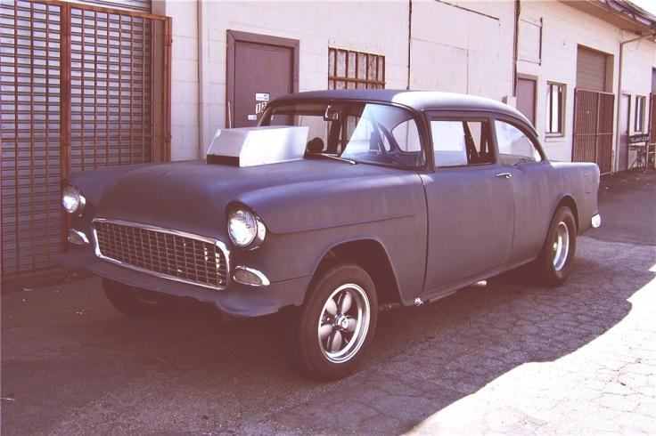 Chevrolet 1955. Foto Barrett Jackson.
