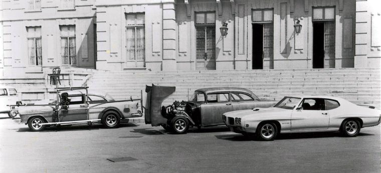 Bastidores da Filmagem. 1970-71.