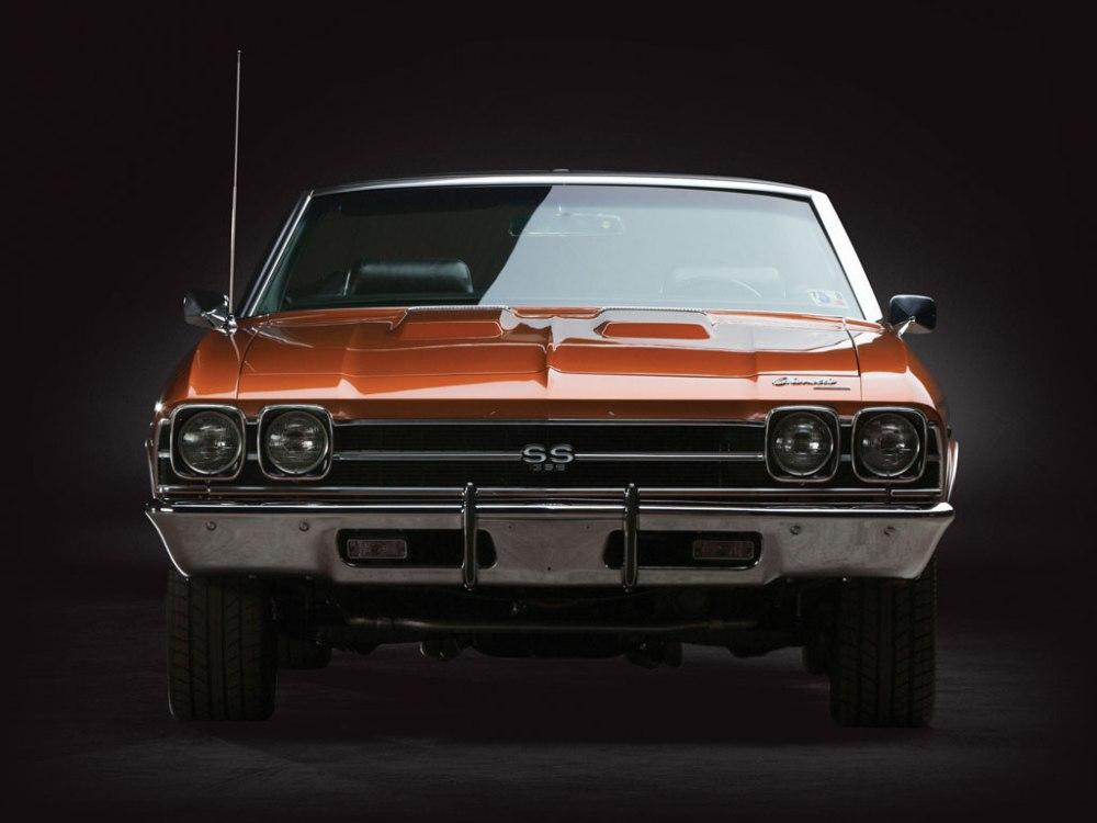 Chevrolet Chevelle SS 396 Conversível 1969. (Foto: RM Auctions)
